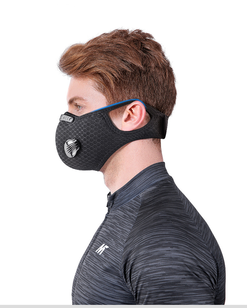 H44c451b159a04db58bdd1536cbccb6866 Shipping to USA Face Mask Filter Bike Cycling Mask Sport FaceMask Running Training Reusable Dust Mask Activated Filter Breathing