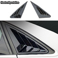 A4 B8 B8.5 заднее окно крыло глянцевый черный боковой вентиляционный щит для Audi A4 4 двери 2008 ~ 2015