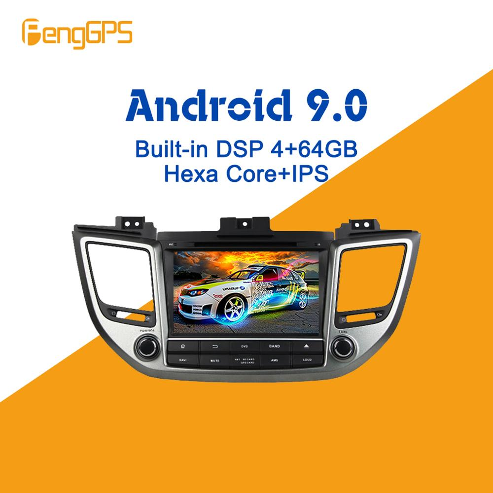 Android 9.0 PX6 DSP For Hyundai Tucson/IX35 2014-2018 Car Multimedia Stereo Player DVD Radio GPS Navigation Head Unit Screen