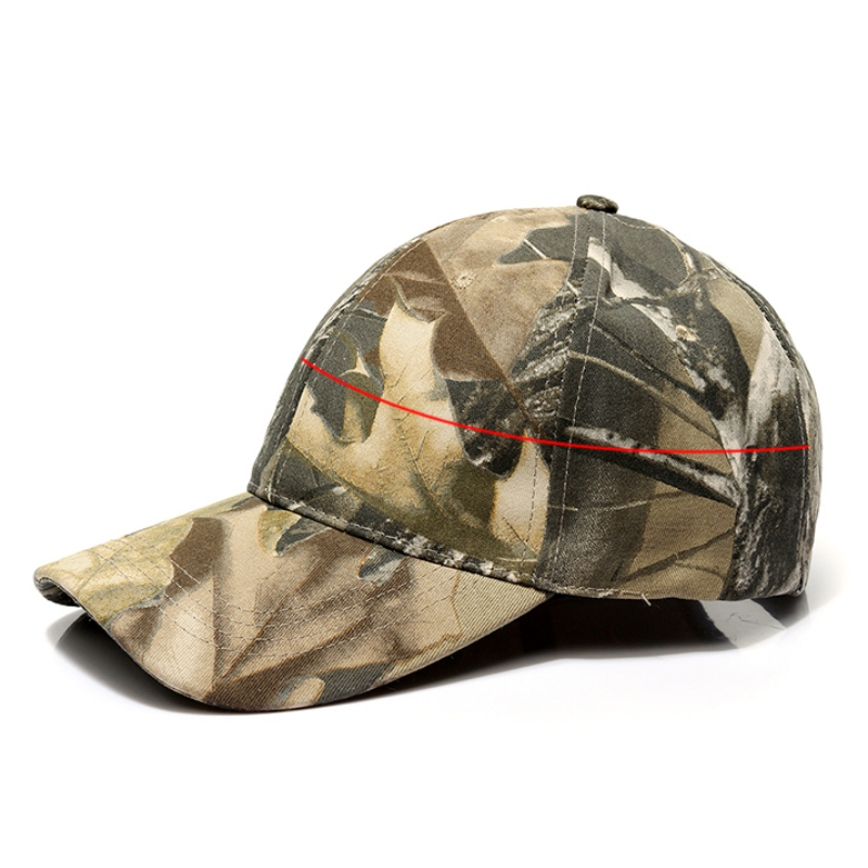 Men Outdoor Sport Snapback Caps Camouflage Baseball Hat Tactical Military Army Camo Hunting Fishing Cap Hat