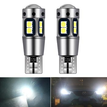2x T10 W5W LED Bulb Car Interior Reading Light Marker Wedge Parking For BMW E90 E91 E92 E93 Hyundai Accent Azera Elantra Sonata image