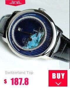 movemt relógio masculino tourbillon safira jacaré esconder mecânica B80801-4