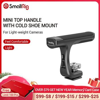 SmallRig Universal Mini Top Handle With Cold Shoe Mount for Light-weight Cameras Camera Cage LED Microphone DIY - 2760 - discount item  29% OFF Camera & Photo