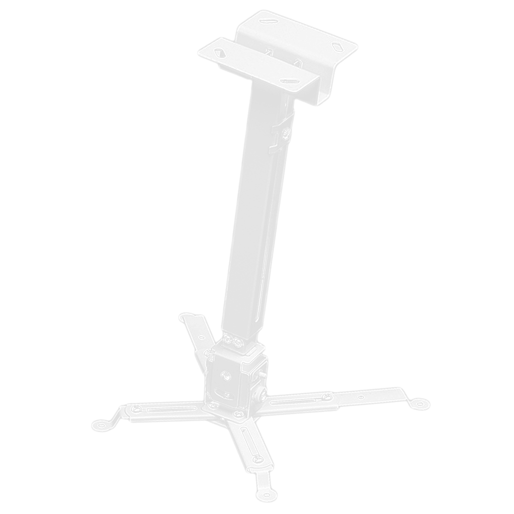 Universal Adjustable Ceiling Projector Projection Mount Extending Arms Mounting Bracket