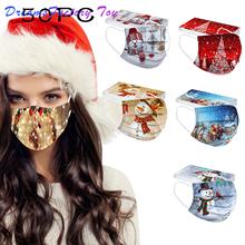 50 sztuk maska jednorazowa dla dorosłych boże narodzenie Cosplay drukuj maski do ochrony Mascarillas maska jednorazowa maska na uszy Masque tanie tanio Akcesoria do cosplay MATERNITY W wieku 0-6m 7-12m 13-24m 25-36m 4-6y 7-12y 12 + y 18 + CN (pochodzenie) inny PIERWSZA EDYCJA