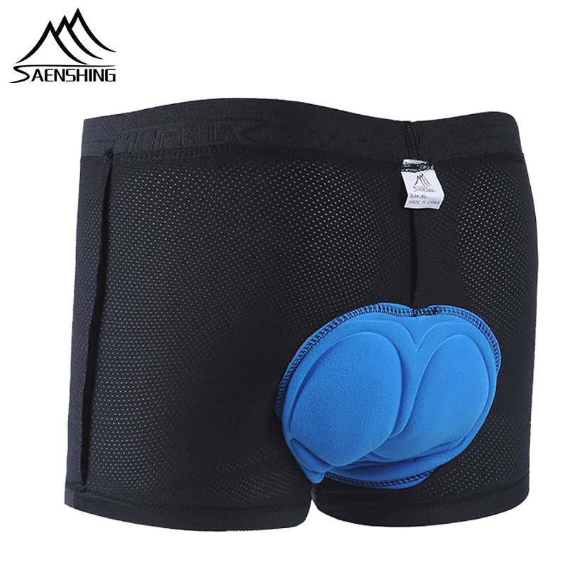 SAENSHING Pro 5D Gel Pad Cycling Shorts Men Downhill Underwear MTB Bermuda Male Mountain Bike Short Pants Bicycle Underpants Man