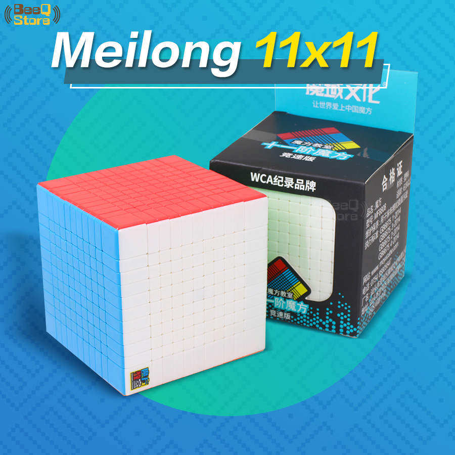 Moyu Meilong 10x10 Cube Speed  Magic11x11x11 10x10 Cube Puzzle Magico Cubo 11x11 Professional Cube Stickerless For Children Toys