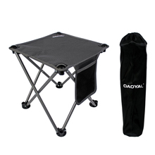 HooRu Picnic Fishing Chair Camping Beach Portable Folding Stool Outdoor Backpacking Furniture Lounge Chair for Travelling Hiking