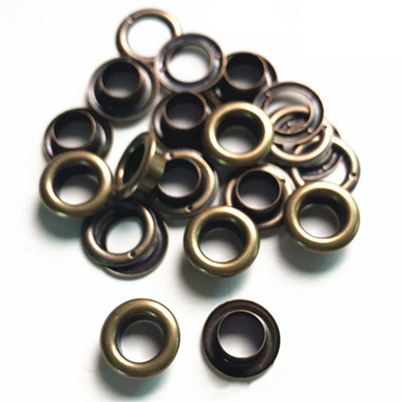 Grommets Washer Crafts Metal With For DIY Shoes-Tool-Supplies 200pcs Eyelets High-Quality