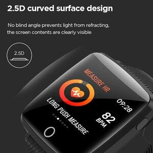Image 4 - لينوفو HW25P Smartwatch معصمه 1.3 بوصة 2.5D شاشة IPS الملونة عرض بلوتوث الرياضة رصد معدل ضربات القلب IP68 ساعة ذكية