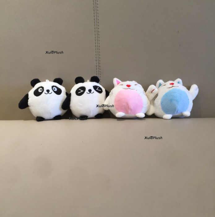 Маленький размер 9 см панда чучела брелок животных плюшевые куклы игрушки