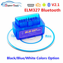 OBD2 Cканер ELM 327 Bluetooth V2.1 OBD 2 ELM327 Bluetooth Auto Car Diagnostic Tool OBD2 ELM327 2.1 Car Scanner Tool Code Reader(China)