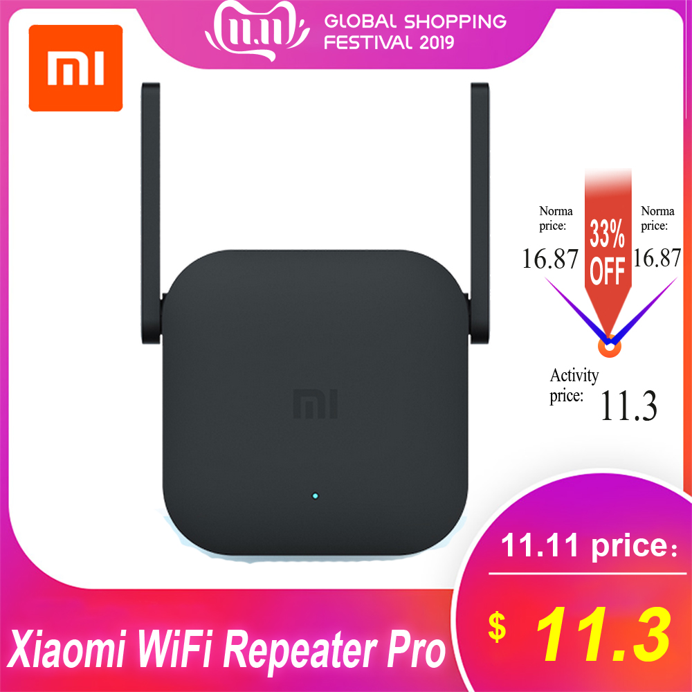 Xiaomi Mi WiFi Repeater Pro/Repeater 2 Extender 300Mbps Wireless Network Repetidor WiFi Signal Enhancement Network Router WiFi