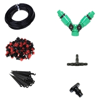 50M Diy Automatic Mini Drip Irrigation System Plant Watering Garden Hose Kits With Adjustable Dripper Smart Control|Garden Sprinklers| |  -