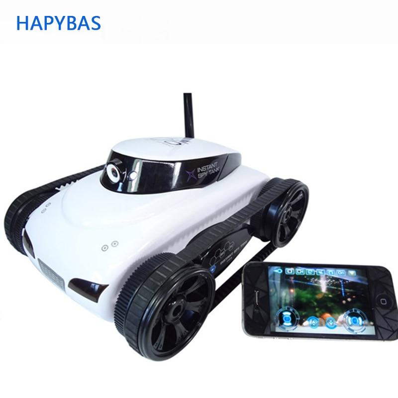 I-Spy Tank Remote Control Car Spy Secret Camera RC Wi-Fi I Pad I Phone Android