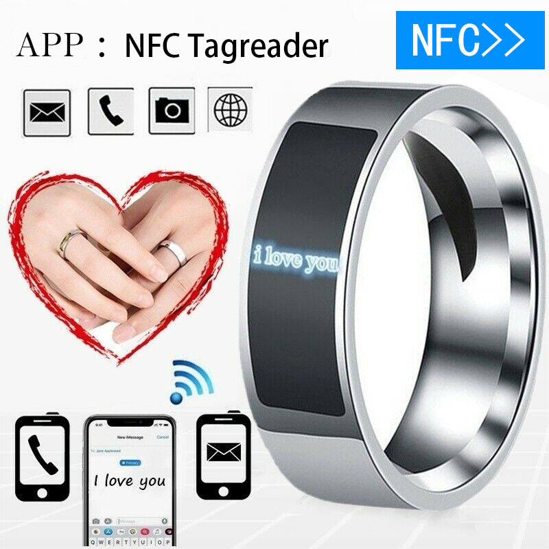 Waterproof NFC Smart Ring Multifunctional Intelligent Wear Finger Digital Rings For Android Phone Equipment Rings