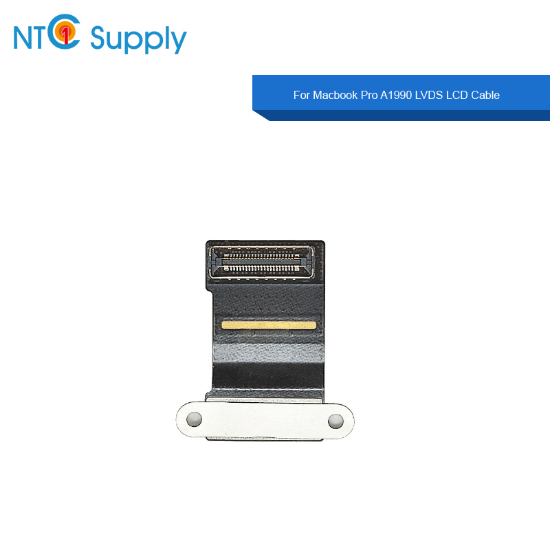 NTC Supply Brand New 2018 Year Laptop LVDS LCD Cable For Macbook Pro <font><b>A1990</b></font> LCD <font><b>Display</b></font> LVDS Cable EMC 3215 image
