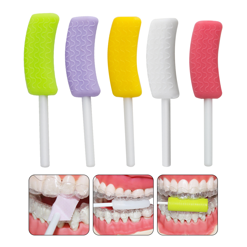 Dental Aligner Chewies Invisible Retainer Seater Aligner Orthodontic Silicone Stick Invisible Mouth Tray Seater Invisalign Brace