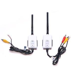 Transmissor e receptor sem fio para carro, câmera automotiva de 2.4 ghz para caminhão/ônibus e veículo, para todos os rca vídeo