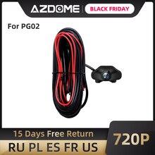 AZDOME 720P Автомобильная камера заднего вида для PG02 зеркальная камера для приборной панели Автомобильный видеорегистратор видео рекордер Водонепроницаемая Автомобильная запасная камера s