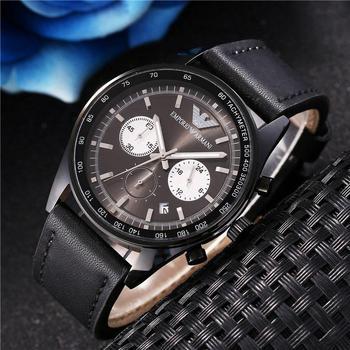 Brand Fashion Classic Quartz Watch For Men 2020 Timepiece Wristwatch Skin Band Date Watch Rose Gold Metal Watch For Men  523