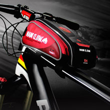 Лучшие водонепроницаемые велосипедные сумки велосипедная Рама