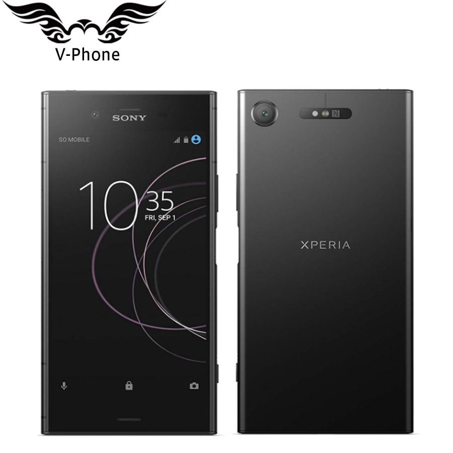 Фото. Новый оригинальный 5,2 дюйм Dual Sim sony Xperia XZ1 G8342 4 Гб 64 Гб мобильный телефон 4G LTE