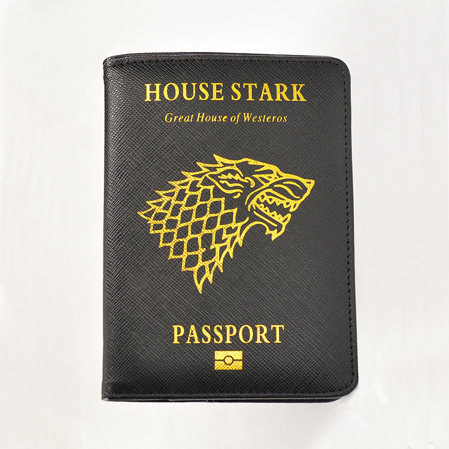 Game Of Thrones Passport Cover Wolf Prints Covers For Passport Travel Customized Rfid Blocking Passport Cover Game Of Thrones