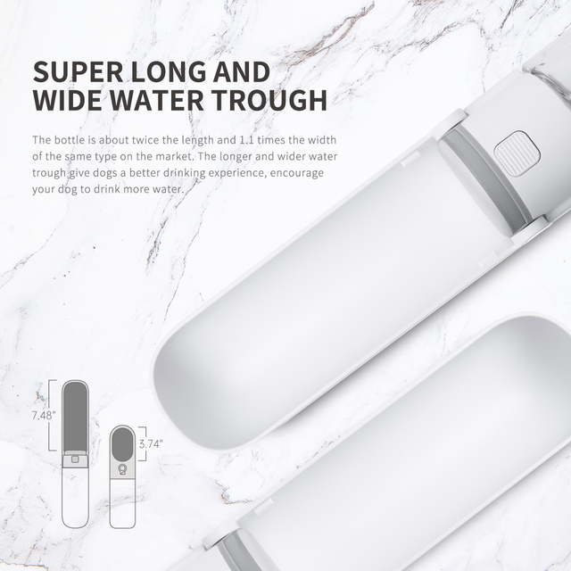 Portable Pet Water Bottle for Dogs Outdoor Travel  5
