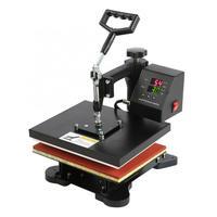High Pressure Dual display Digital Manual T shirt Heat Press Machine EU Plug 230V Hydraulic T shirt Heat Press Machine