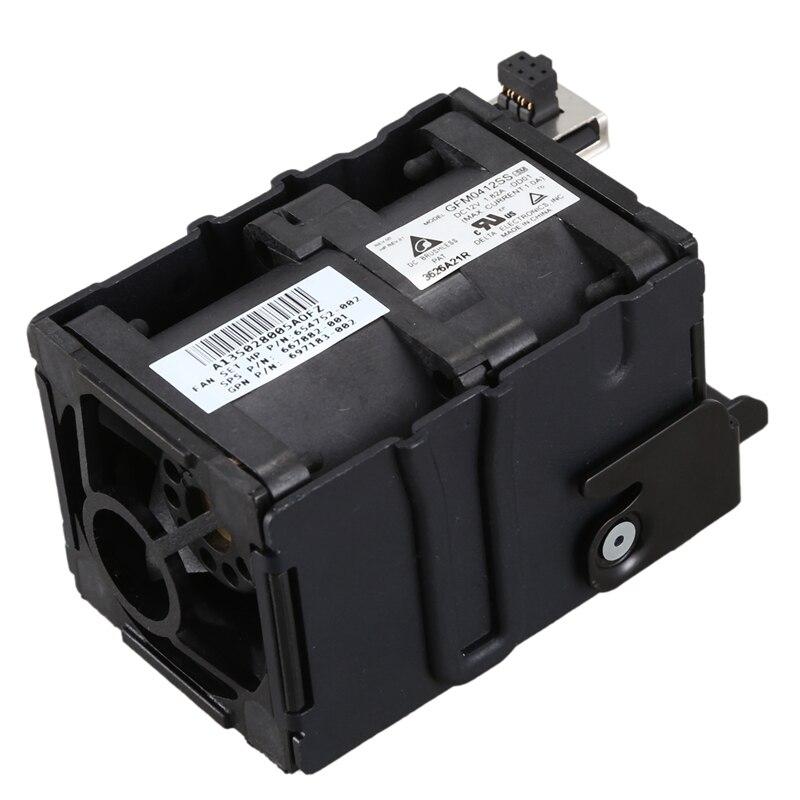 Sunucu soğutma fanı HP yedek malzemesi DL320E G8 DL320 G8 675449 001 675449 002 soğutucu Fan title=