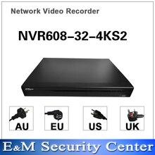 Original dahua egnlish version NVR NVR608 32 4KS2 NVR608 64 4KS2 NVR608 128 4KS2  32  64 128 Channel H265 Network Video Recorder