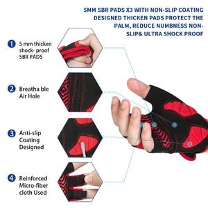 Image 2 - Противоударные велосипедные перчатки MOREOK, MTB велосипедные перчатки, дышащие велосипедные перчатки для езды на велосипеде, Нескользящие велосипедные перчатки для мужчин