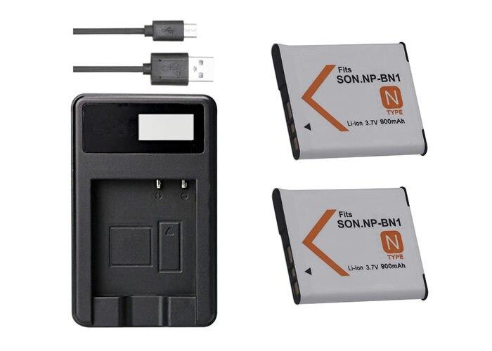 W350 DSC-W710 Batería NP-BN1 NPBN1 650mAh para Sony Cybershot DSC DSC-W330