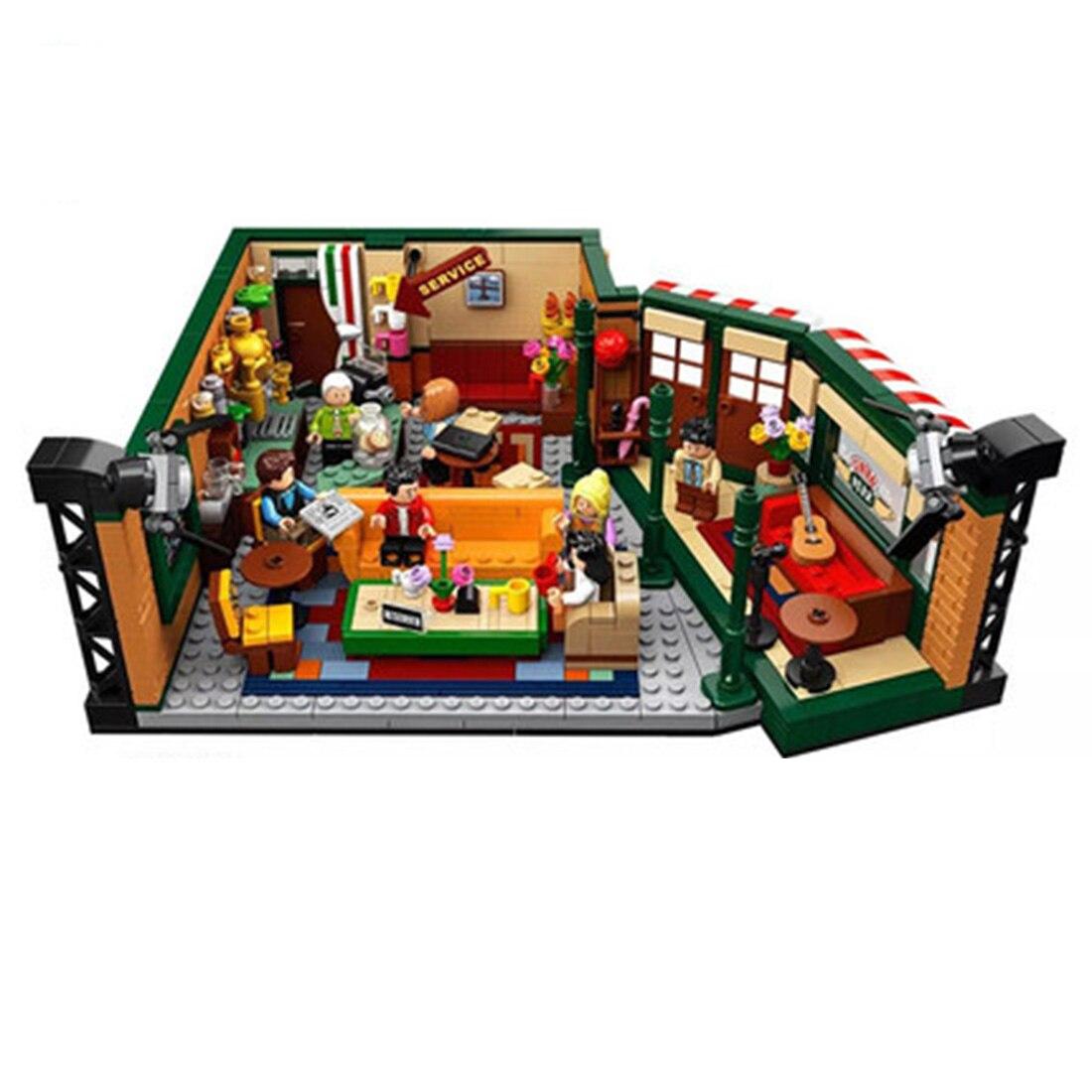 3/5 мм строительный блок акриловые пыле Дисплей коробка литье коробок для друзей кафе 21319 Укладка блоков 21319 игрушки, детские кубики, подарки ... - 6