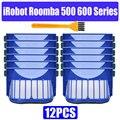 HEPA щеточный фильтр для замены iRobot Roomba 500 600 серии 536 550 551 620 650 Запчасти для пылесоса аксессуары