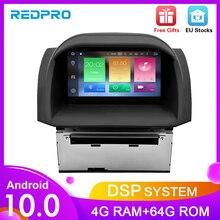 4g ram android 10.0 carro estéreo para ford fiesta 2013 2017 rádio automático dvd player navegação gps bluetooth 2 din wifi multimídia