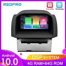 Radio Multimedia con GPS para coche, Radio con reproductor DVD, 10,0 Android, 4 GB RAM, Bluetooth, 2 Din, Wifi