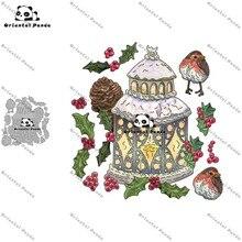New Dies 2020 Christmas Castle Metal Cutting Dies diy Dies photo album cutting dies Scrapbooking Stencil christmas dies die cut diy christmas snowman pattern cutting die