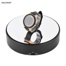 Soporte de pantalla rotativa de 360 grados, soporte de disco giratorio de bisutería de velocidad ajustable