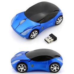 Mini Sports Car Wireless Mouse 2.4Ghz Computer USB Mice Optical Fashion Gaming Mouse For PC Laptop Desktop Supercar Mice