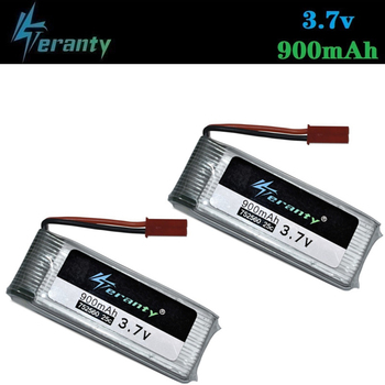 3.7V 900mah 752560 Battery For X5 X5C X5SC 8807 8807W A6 A6W M68 Drones lipo battery Rc Quadcopter Spare Parts Accessories 2Pcs image