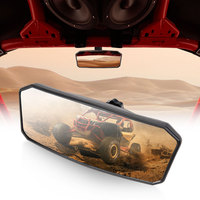 KEMIMOTO UTV Accessories Rearview Center Mirror for Can Am Maverick X3 Max Sport 1000 1000R Trail 800 800R 1000 1000R