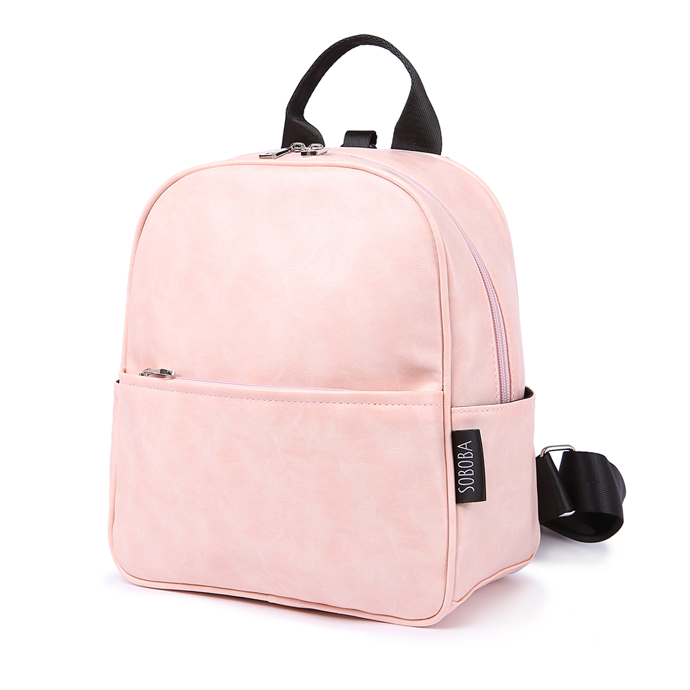 Kindergarten Backpack For Girls Waterproof Pink Bag Large Capacity Cute Anti-lost Toddler Baby Harness Backpack For Naughty Kids