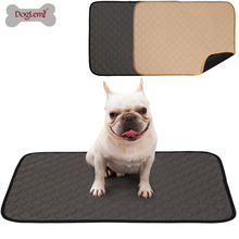 Doglemi Washable Pet Dog Cat Pee Pads Mat Waterproof Puppy Training Pad Reusable for dog cat toilet litter box clean