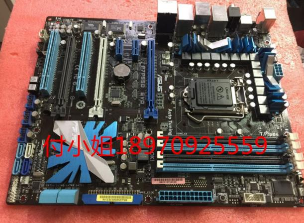 original motherboard ASUS P7P55D EVO LGA 1156 <font><b>DDR3</b></font> for I5 I7 16GB USB2.0 P55 Desktop motherboard Free shippingoriginal motherboa image