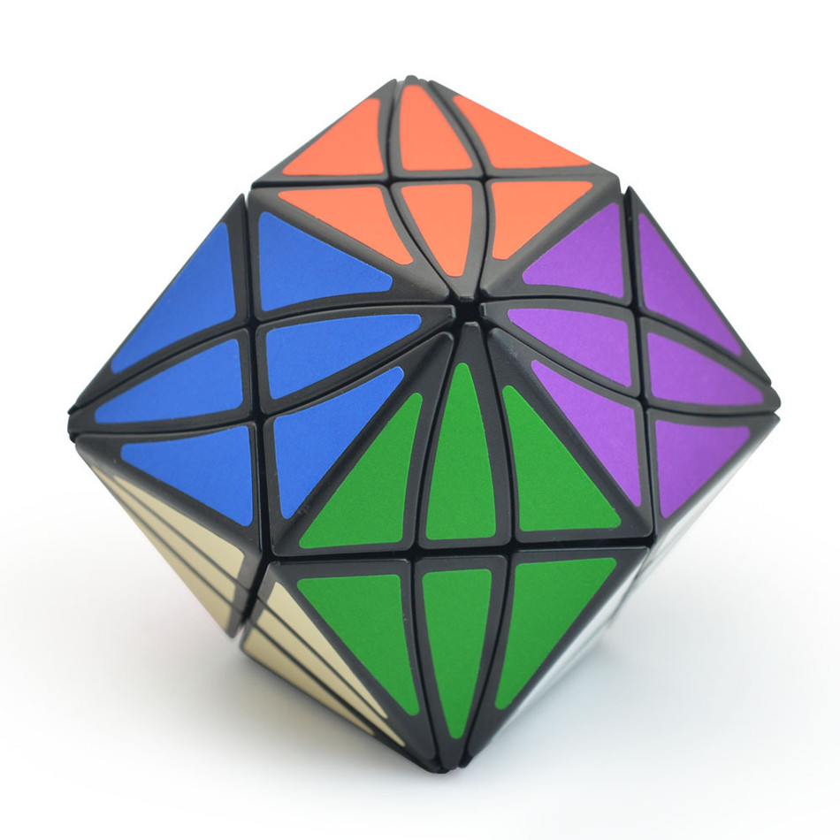 Lefun Eye Magic Cube Strange-shape Magic Cube Speed Twist Puzzle Educational Toys Cubo Magico Toys For Children Kids