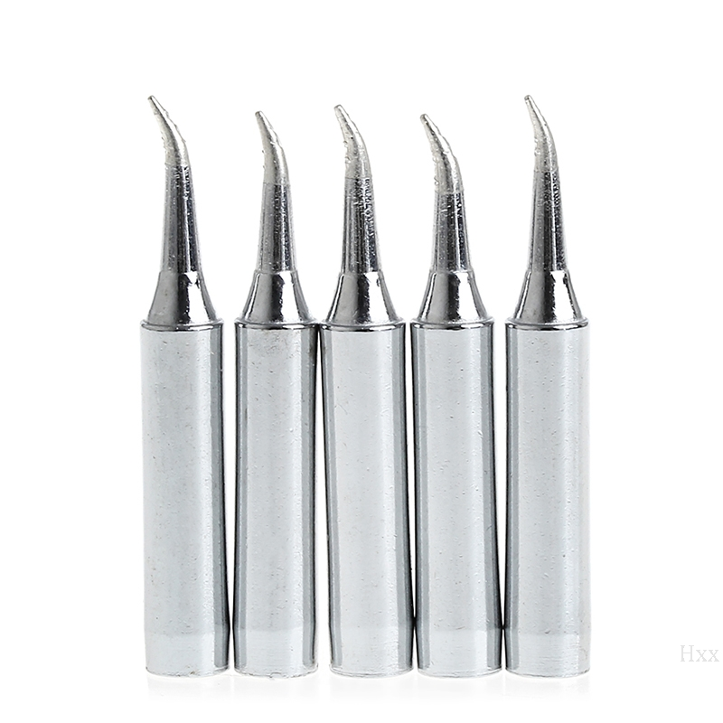 5Pcs 900M-T-IS Lead Free Solder Iron Tips For Hakko Soldering Rework Station