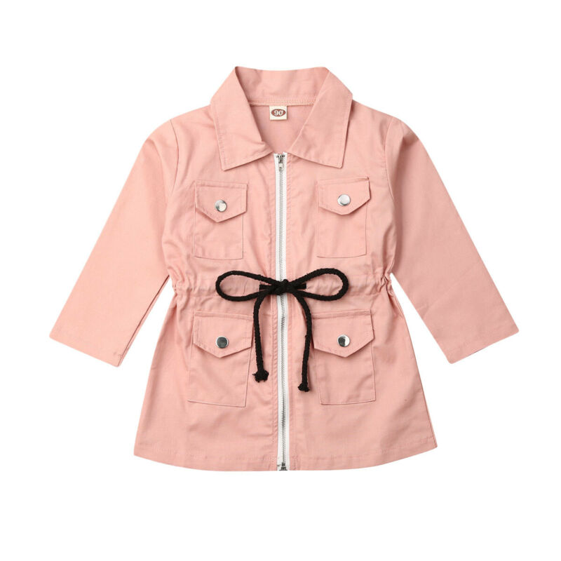 Baby Girls Zipped Coat