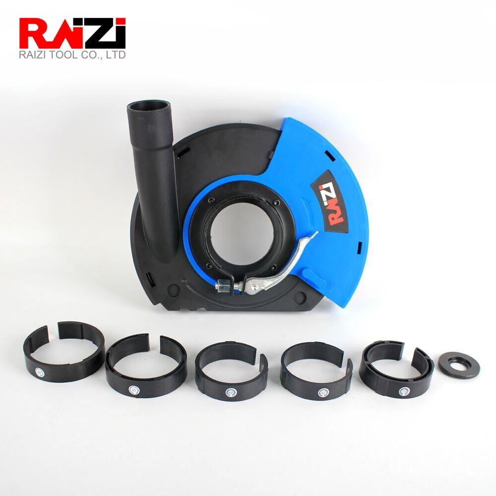 Raizi 5/125mm 7/180mm Plastic Universal Dust Shroud For Angle Grinder(Free Shipping)